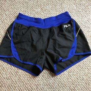 FILA Sports Athletic Indigo Shorts
